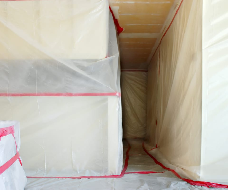 asbestos abatement process